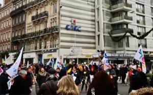 Blocages et manifestations se poursuivent au Havre et à Rouen contre la réforme des retraites