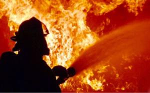 Un bâtiment agricole de 1.500 m2 ravagé par un violent incendie en Seine-Maritime