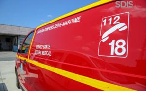 Le Havre (Seine-Maritime) : un semi-remorque se renverse, un jeune homme blessé