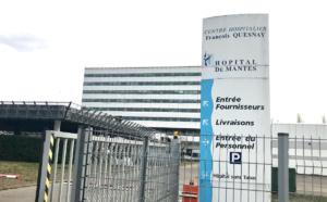 Découvert dans les toilettes de l'hôpital après une overdose, à Mantes-la-Jolie (Yvelines)