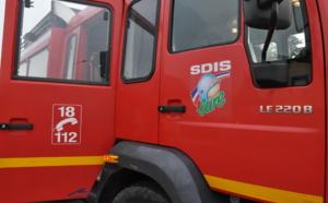 Eure : une maison détruite par le feu à Verneuil d'Avre et d'Iton, aucun blessé à déplorer