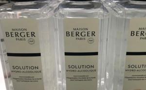 Coronavirus : Maison Berger, dans l'Eure, va produire 900 000 flacons de gels hydro-alcooliques