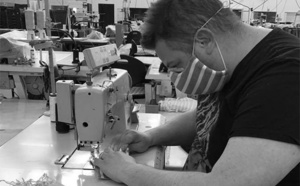 Normandie : la région commande 200 000 masques en tissu auprès de l'entreprise Saint James