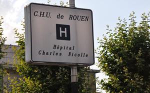 Un homme blessé d'un coup de sabre à la tête suite à un différend, près de Rouen