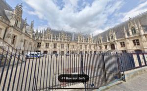 Déconfinement : la ministre de la Justice en visite au tribunal et à la Cour d'appel de Rouen