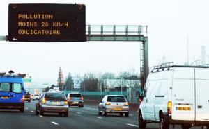 Pollution à l'ozone aujourd'hui : restriction de circulation et réduction de la vitesse en Île-de-France