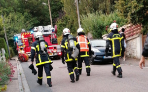 Incendie dans une habitation à Mont-Saint-Aignan : une personne âgée indemne