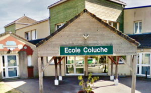 Trois classes de l'école Coluche sont fermées depuis ce jeudi soir - illustration @ Google Maps
