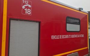 Accident près de Rouen : une voiture sur le flanc et son conducteur incarcéré et blessé