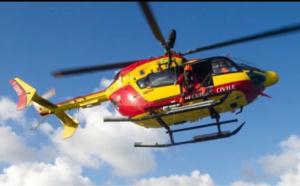 Face-à-face entre deux voitures près de Bernay : un enfant de 12 ans héliporté en urgence absolue