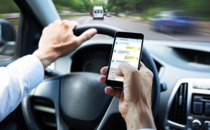 Téléphone au volant : première suspension de permis dans l'Eure