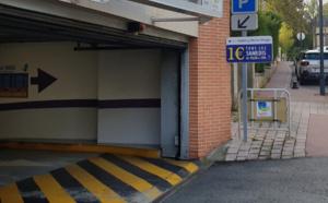 Le parking Victor-Hugo propose 235 places de parking - Photo ® Ville d'Evreux