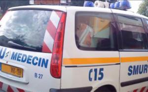 Seine-Maritime : un cyclomoteur percute un rail de sécurité à Eu, le pilote est grièvement blessé