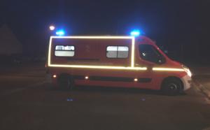 Le blessé a été transporté, en urgence absolue, à l'hôpital d'Évreux par led sapeurs-pompiers - illustration @ infoNormandie