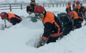 Plus de 2 300 sapeurs-pompiers et sapeurs-sauveteurs de la Sécurité civile sur le front de la neige