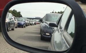 Circulation chargée ce soir sur l'autoroute A13 en direction de la Normandie