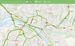 Trafic routier à Rouen : toujours plus d'informations sur internet