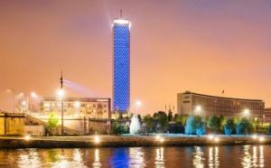 Rouen : la Tour des Archives illuminée en bleu pour la journée mondiale de la sensibilisation à l'autisme