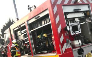 La maison embrasée à Vexin-sur-Epte (Eure) mobilise 28 sapeurs-pompiers : une famille relogée