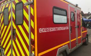 A Rouen, un homme alcoolisé tente de dérober l'ambulance des pompiers en intervention