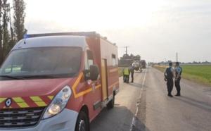 Eure : un homme tué dans un accident de la route, un autre blessé grièvement, près de Beuzeville