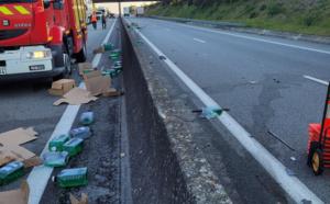 Quatre poids-lourds impliqués dans des accidents ce matin dans l'Eure et en Seine-Maritime