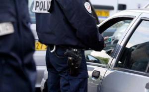 Évreux : l'automobiliste circulait tous feux éteints, sans permis et alcoolisé