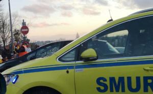 Un homme de 86 ans percuté par un camion près de Rouen : il est admis au CHU dans un état grave