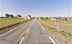 Eure : un homme non identifié retrouvé mort sur le bord d'une route à Criquebeuf-sur-Seine