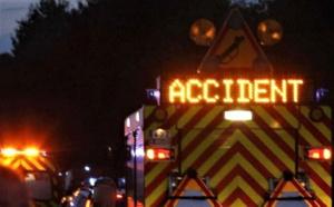 Deux morts et un blessé grave dans un face-à-face entre deux voitures ce soir en Seine-Maritime