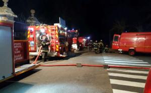 Violent incendie dans l'ancien couvent de Gravigny (Eure) : 50 sapeurs-pompiers sont sur place