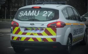 Deux voitures se percutent de front dans l'Eure : deux blessés dont un grave près de Brionne