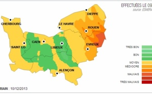 Alerte à la pollution de l'air pour mardi en Haute-Normandie