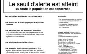 Pollution : la Haute-Normandie toujours en alerte