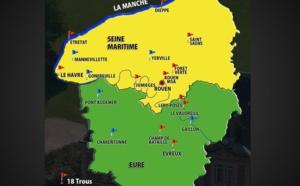 Haute Normandie : 14 golfs participent à Tous au Golf