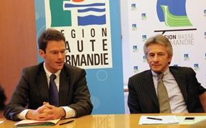 """Réunification de la Normandie : les deux présidents de région attendent """"un engagement fort du gouvernement"""""""