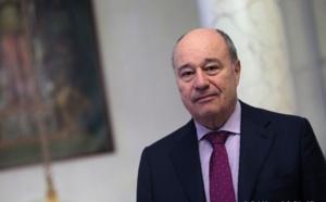 Jean-Michel Baylet, président du PRG en déplacement à Caen le 1er juillet