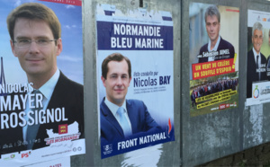 Elections régionales : en Normandie, Hervé Morin talonné par le Front national, Nicolas Mayer-Rossignol distancé