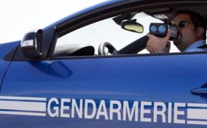 Contrôles routiers : la vitesse dans le collimateur des gendarmes de Dieppe