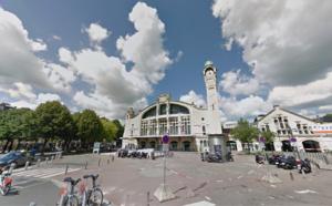 Rodéo devant la gare de Rouen : le scooter avait été volé à un livreur de sushis