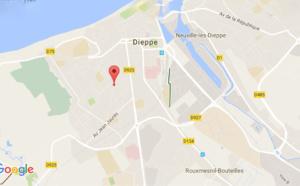 Dieppe : un conducteur de grue succombe à un malaise cardiaque dans sa cabine