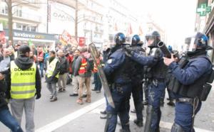Manifestation contre la Loi Travail : trois interpellations à Rouen