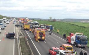 Carambolage sur l'A13 dans les Yvelines : l'autoroute est fermée et déviée à partir des Mureaux