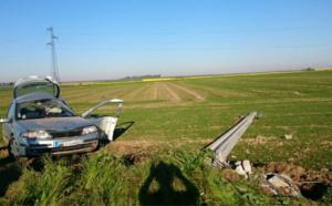 Eure : une automobiliste de 22 ans tuée sur la route ce matin près de Beaumont-le-Roger
