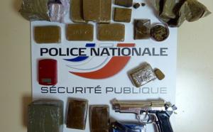 Seine-Maritime : 2,5 kg de drogue et une grenade de guerre saisis chez des trafiquants