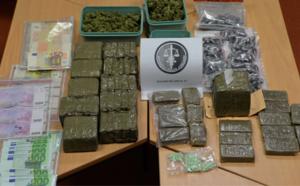 Pont-de-l'Arche : les gendarmes mettent la main sur 10 kg de drogue au domicile d'un trafiquant