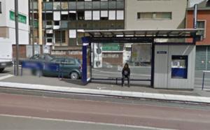 Rouen : Il casse la vitre d'un abri-bus et tente de briser la vitrine d'un fleuriste