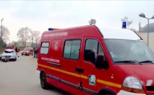 Au Havre, la voiture se retourne sur la voie du tramway : trois blessés légers