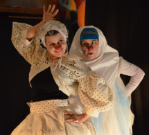 Palomita, Itza et Paou la poule... Venez rire le 28 août au château d'Harcourt (Eure)