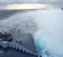 Avis de tempête en mer dimanche : rafales de vent et vagues de 3 à 6 mètres en Manche